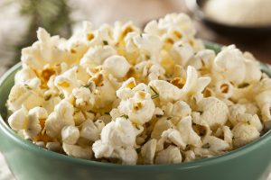 Healthy Popcorn Toppings Rosemary Herb