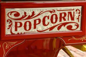 Home Theater Popcorn Cart
